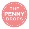 The Penny Drops Logo (red)