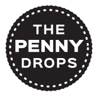 The Penny Drops Logo (retina)