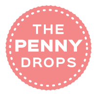 The Penny Drops Logo (red x2)
